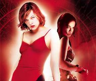 Milla Jovovich (Alice) et Michelle Rodriguez (Rain Ocampo) dans Resident Evil