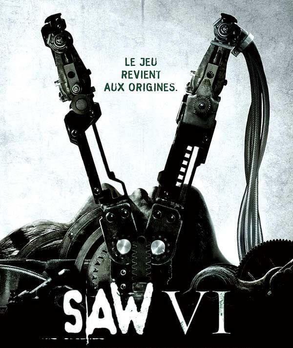 Saw 6 l'affiche du film