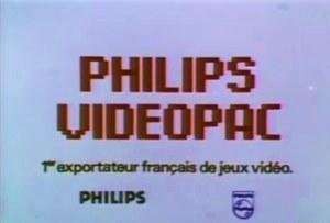 Philips Videopac publicité
