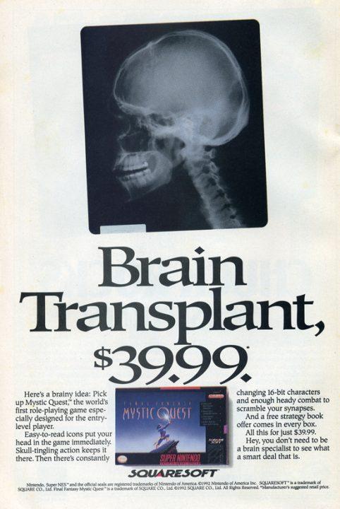 Brain Transplant 39,99$