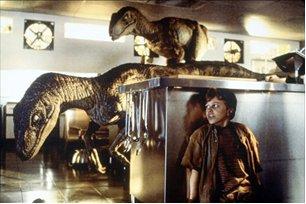 Jurassic Park: les vélociraptor