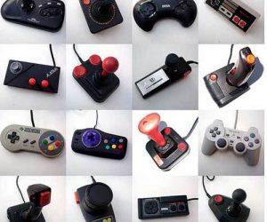 Manettes de consoles de jeux vidéo rétro gaming