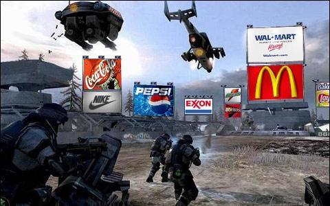 Publicité dans le jeu vidéo
