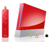 Nintendo Wii rouge en édition collector