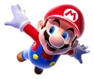 Super Mario vole
