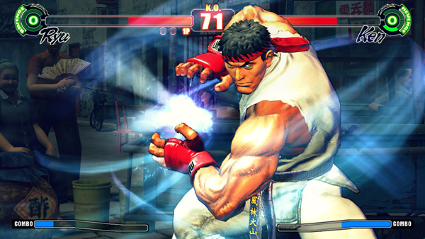 Street Fighter Ken vs Ryu