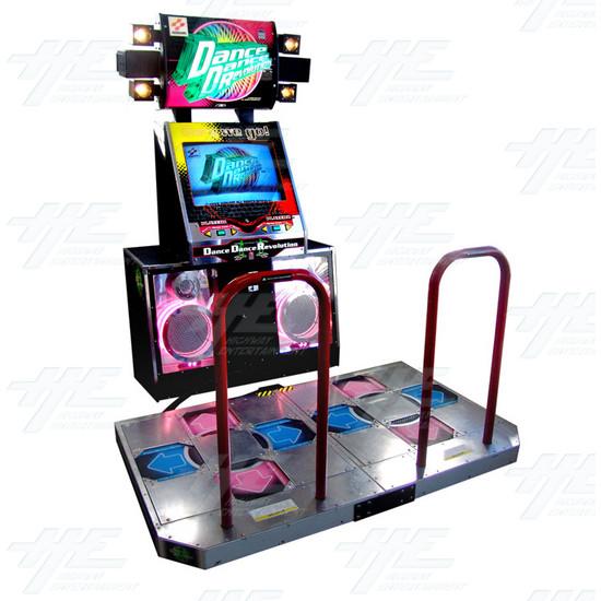 Borne arcade de Dance Dance revolution