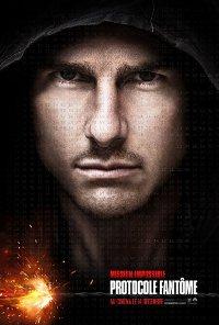 Mission: Impossible - Protocole fantôme, l'affiche du film