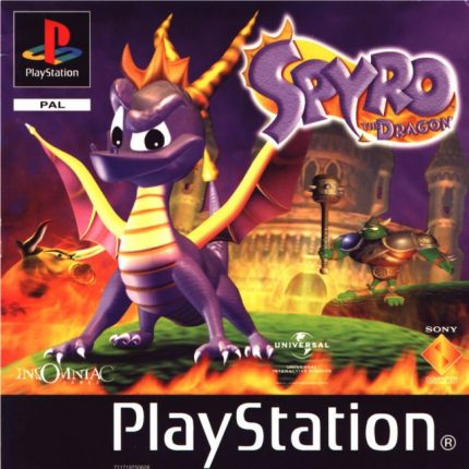 Spyro the Dragon Playstation