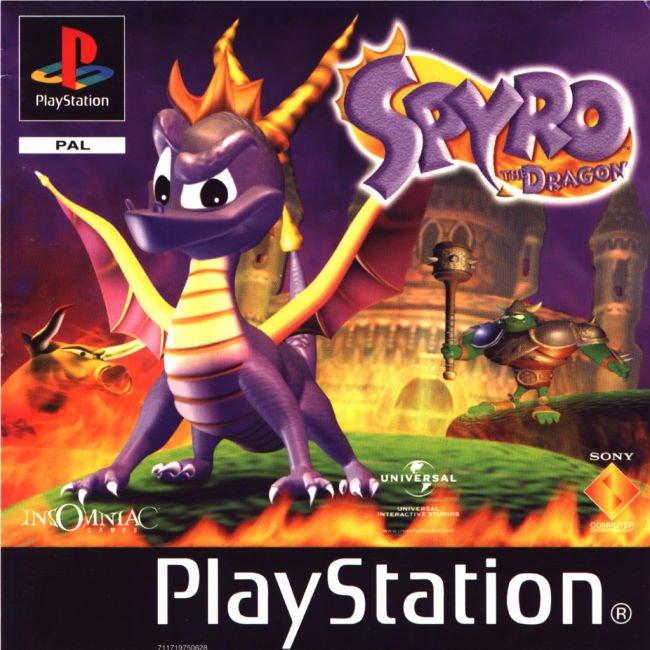 Spyro the Dragon Playstation