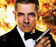 Rowan Atkinson en Johnny English