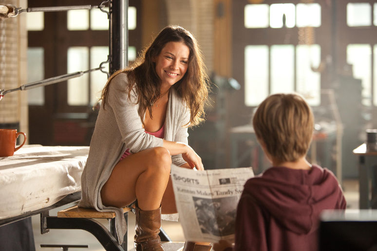 Evangeline Lilly dans Real Steel