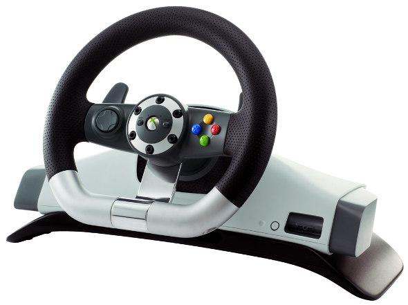 Volant Microsoft officiel Xbox 360