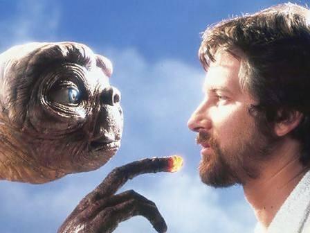 Steven Spielberg et ET