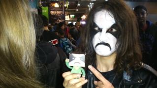 Paris Games Week 2013 : Angry face cosplay