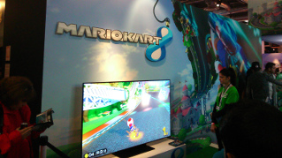 Paris Games Week 2013 : Mario Kart 8