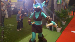 Paris Games Week 2013 : cosplay Skylander