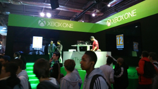 Paris Games Week 2013 : le stand Xbox One