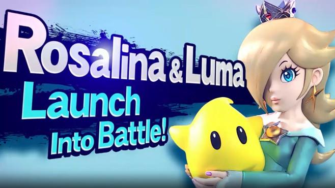 Rosalina et Luma dans Super Smash Bros Wii U