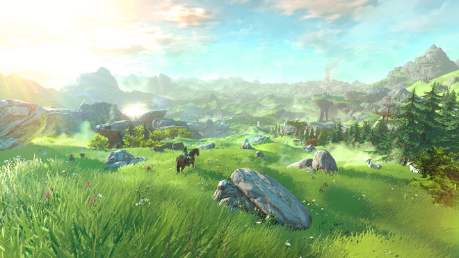 The Legend of Zelda sur Wii U en monde ouvert