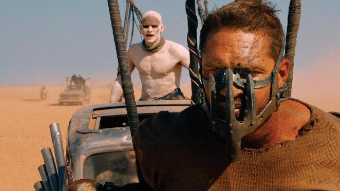 Mad Max enchaîné en mauvaise posture