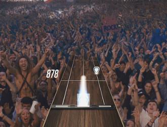 Guitar Hero Live : acclamé par le public !
