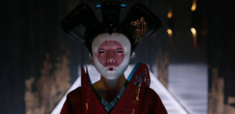 Ghost in the Shell - Geisha cybernétique