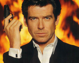 Pierce Brosnan en James Bond