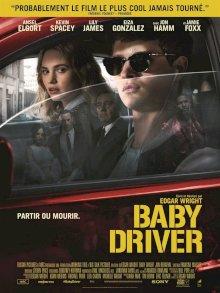 Baby Driver - l'affiche du film