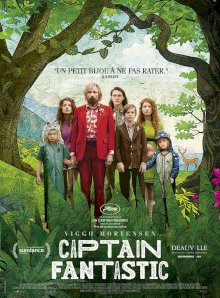 Captain Fantastic - l'affiche du film