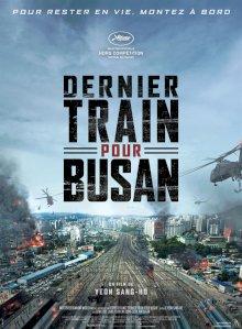 Dernier train pour Busan - l'affiche du film