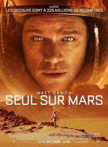 Seul sur Mars - l'affiche du film