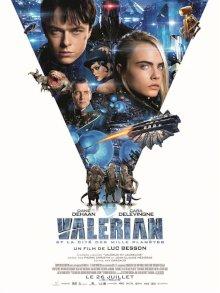 Valérian et la Cité des mille planètes - l'affiche du film