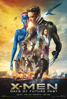 X-Men: Days of Future Past - l'affiche du film