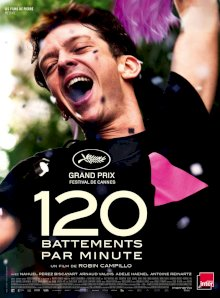 120 battements Par Minute - l'affiche du film
