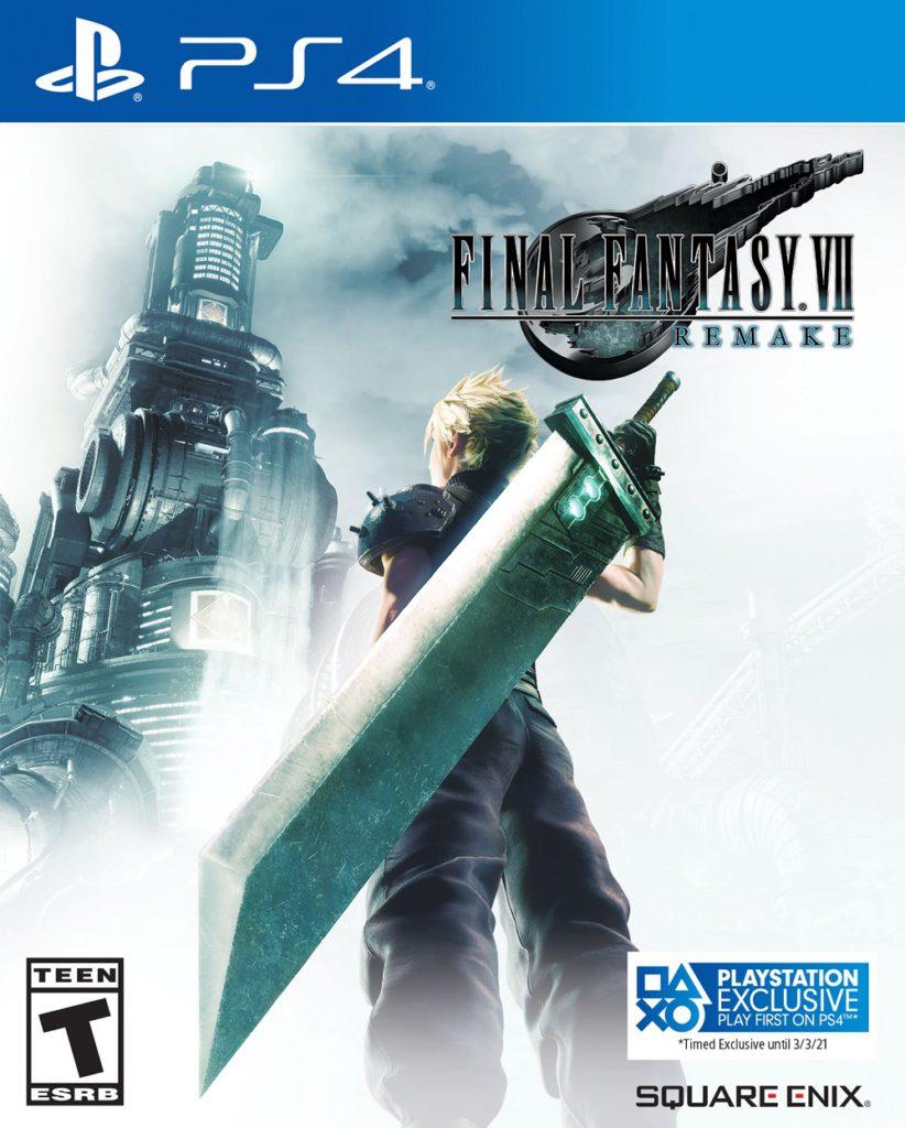 Final Fantasy VII Remake - Jaquette