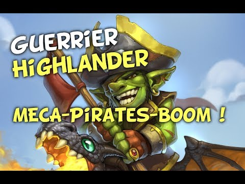 Guerrier Highlander Pirates-Méca-Boom