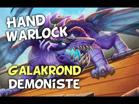 Hand Warlock Galakrond Démoniste