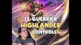 Guerrier contrôle Highlander